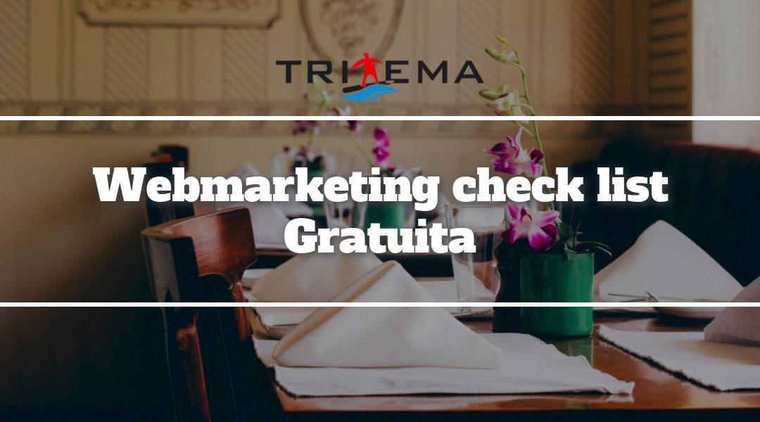 webmarketing checklist ristoranti alberghi