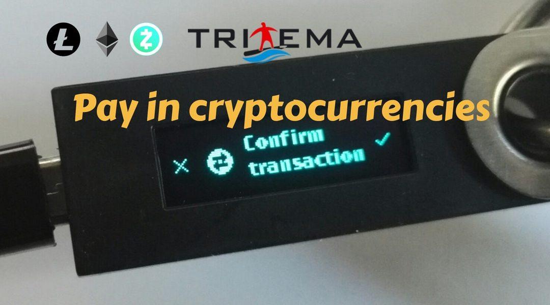 Tritema accetta pagamenti in criptovaluta